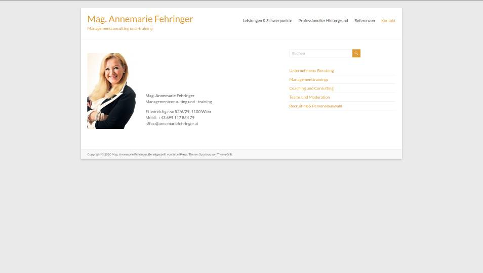 annemariefehringer.at